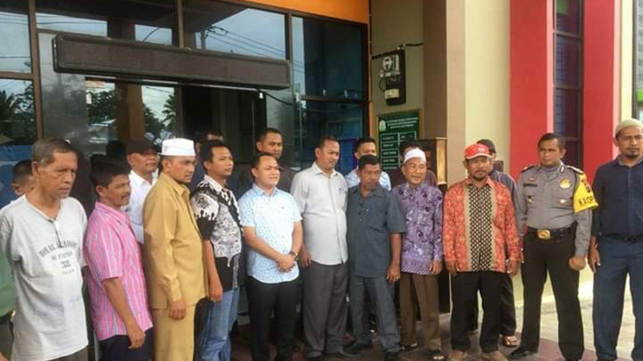 Puskesmas Kota Kualasimpang Bagikan Obat Pencegah Kaki gajah Secara Gratis Kepada Masyarakat Kota Kualasimpang